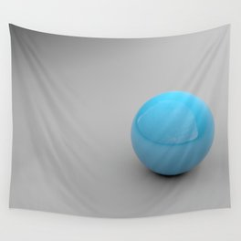 Blue sphere Wall Tapestry