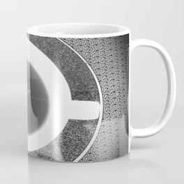 black and white butterfly tea cup Coffee Mug