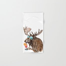 Moose on Vacation Hand & Bath Towel