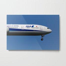 All Nippon Airways Boeing 777 Metal Print