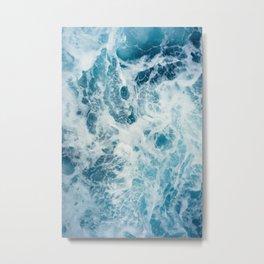 Rough Sea - Ocean Photography Metal Print