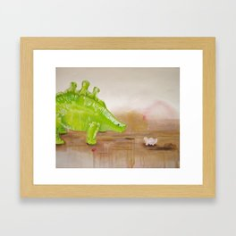 Dinos Framed Art Print