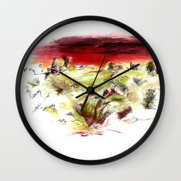 High Ground Wall Clock