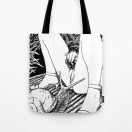 asc 476 - Le regard de l'escargot (The fertility) Tote Bag