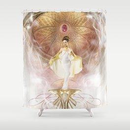 Anadyomene Shower Curtain