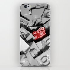 Red Brick iPhone & iPod Skin