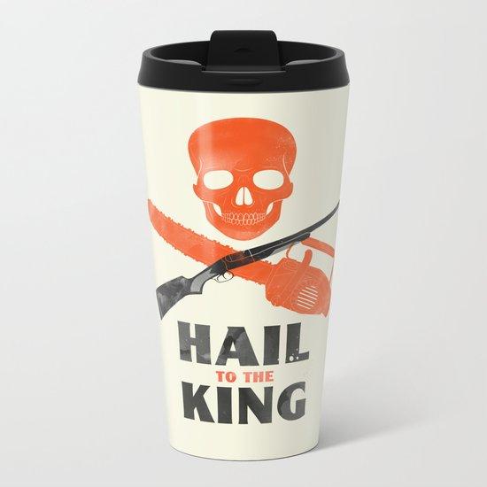 Hail to the King! Metal Travel Mug