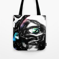 study Tote Bags featuring Study by John Hansen