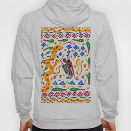 traditional Sicilian design folklore Hoody
