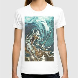 Abstract Painting X 4 T-shirt
