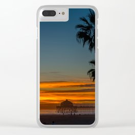 Ruby's and Palms Clear iPhone Case