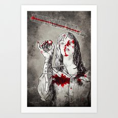 California Mountain Snake // Kill Bill Art Print