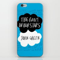 tfios iPhone & iPod Skins featuring TFiOS by Hoeroine