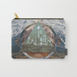 abstract polyscape Carry-All Pouch