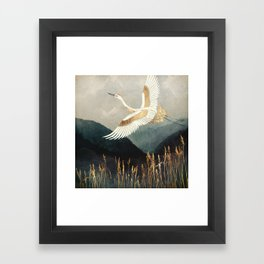 Elegant Flight Framed Art Print