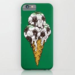 Ice Cream Soccer Balls iPhone Case