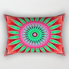 Drama Mandala Rectangular Pillow