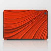renaissance iPad Cases featuring Renaissance Red by Charma Rose