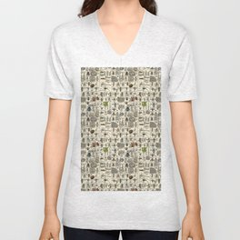 Vintage Entomology Unisex V-Neck