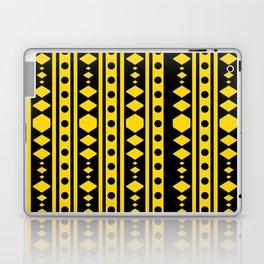 Tribal Yellow Pattern Laptop & iPad Skin