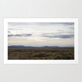 New Mexico Landscape Art Print