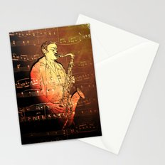 Pure Sax Stationery Cards