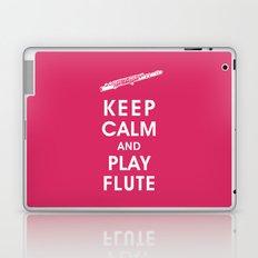 Keep Calm and Play Flute Laptop & iPad Skin