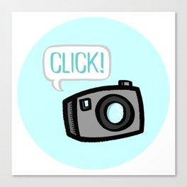 CLICK! Canvas Print