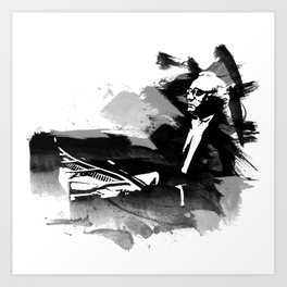 Alfred Brendel - Pianist Art Print