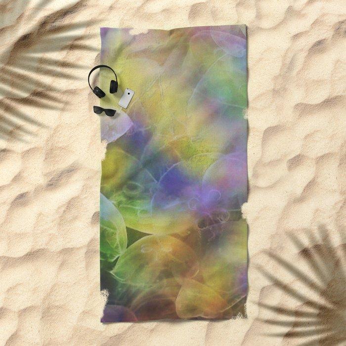 Jellyfish pattern Beach Towel
