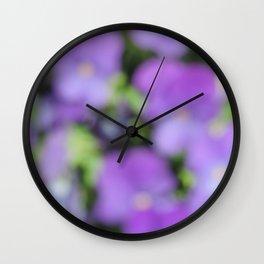 Blur II Wall Clock