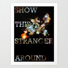This Stranger Art Print