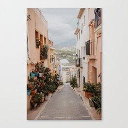 Spanish Streets Canvas Print