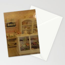 Miniature bakery Stationery Cards