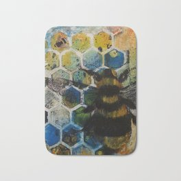 Bee Kind to One Another Bath Mat