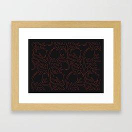 Gorgonia Framed Art Print