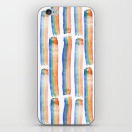 Rainbow Strokes iPhone Skin