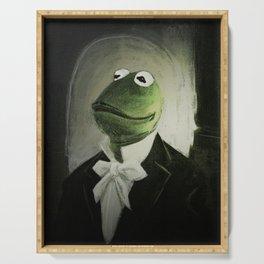 Sir Kermit Serving Tray