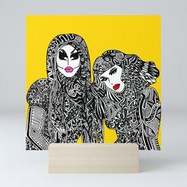 UNHhhh Mini Art Print