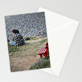 Red Bench Stationery Cards