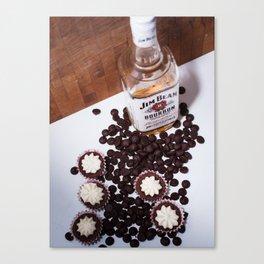 Dark Chocolate and Bourbon Canvas Print