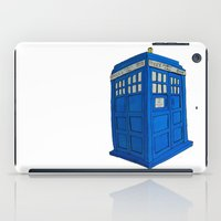 tardis iPad Cases featuring Tardis by TheWonderlander