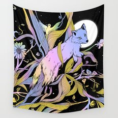 Wild Emergence Wall Tapestry