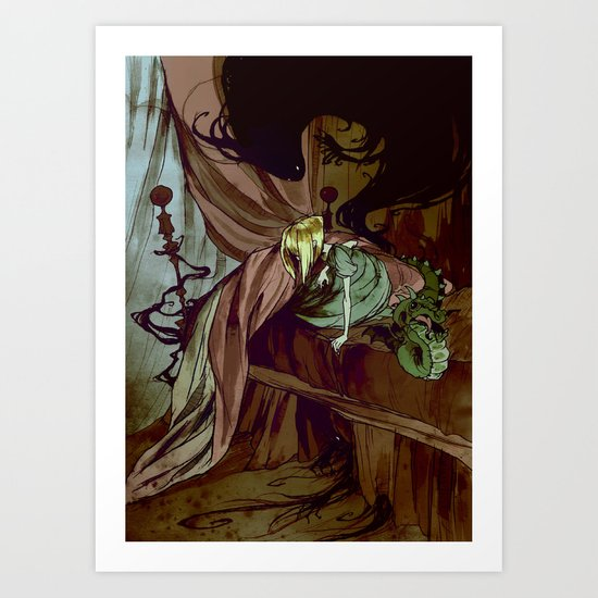 Under the Bed Art Print