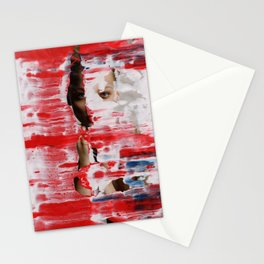 Red 001 Stationery Cards