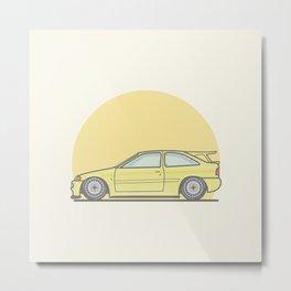 Ford Escort Cosworth vector illustration Metal Print