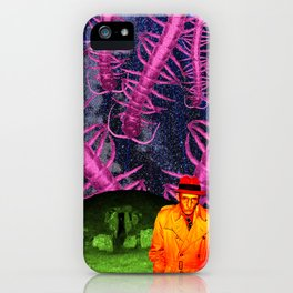 the black meat iPhone Case