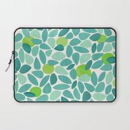 Mid Century Lime Tree Laptop Sleeve