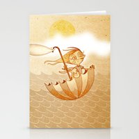 freedom Stationery Cards featuring Freedom by José Luis Guerrero