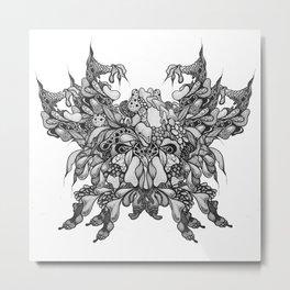 Skulls 3 Metal Print